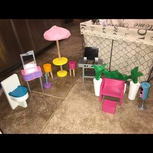 Other - 13 piece wooden dollhouse furniture - kidkraft